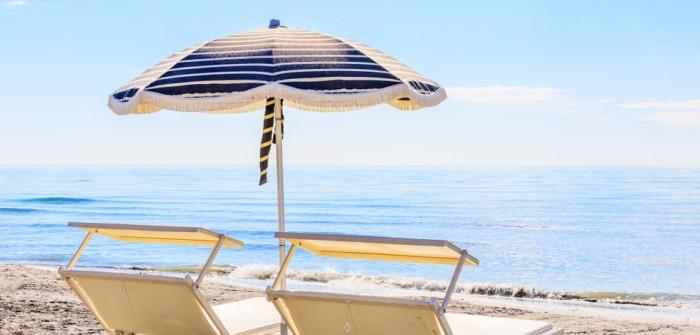 Badeurlaub + Strand: Cervia bietet eine alternative Form, dem Schlaganfall zu begegnen.