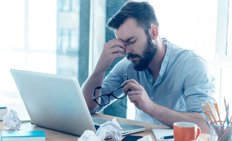 Extremer Stress kann Erkrankungen wie Vorhofflimmern begünstigen.