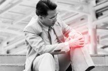 Schmerzen im Knie beim Treppensteigen runter: Ursachen und einfache Abhilfe ( Foto: Shutterstock-Nattanan Zia _)